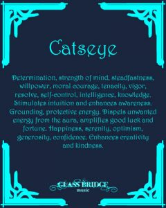 Catseye Attributes - Glass Bridge Music