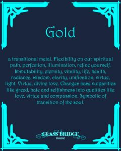 Gold Attributes - Glass Bridge Music