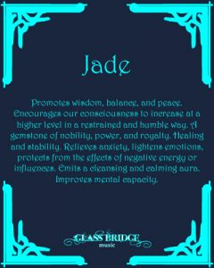 Jade Attributes - Glass Bridge Music
