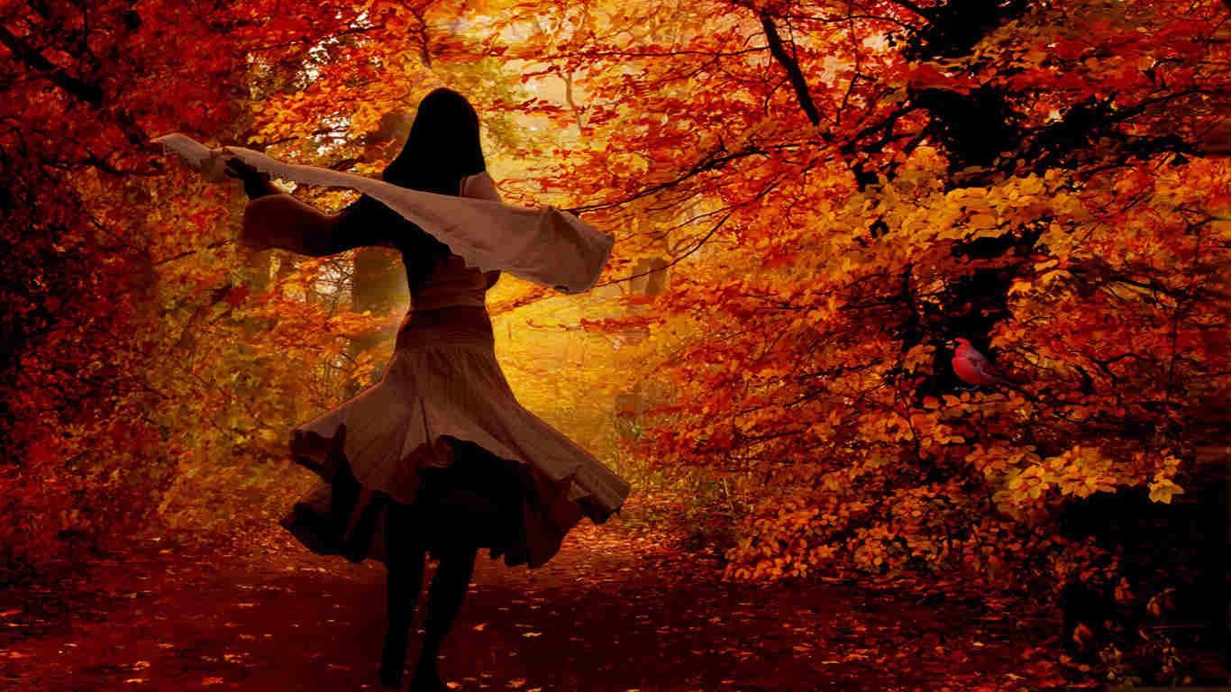 Glass Bridge Autumn Dance